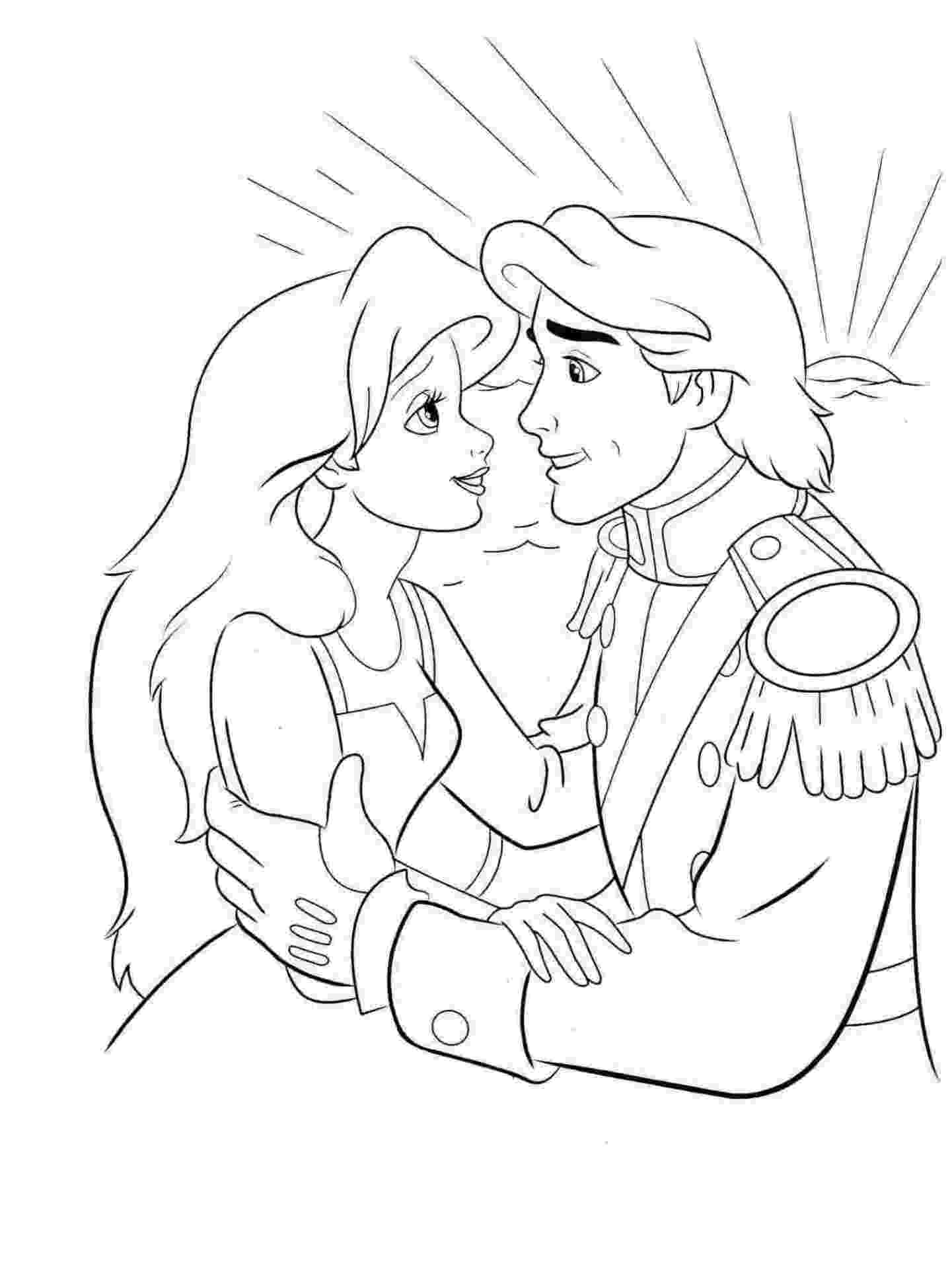 Disney Princess Au Coloring Page